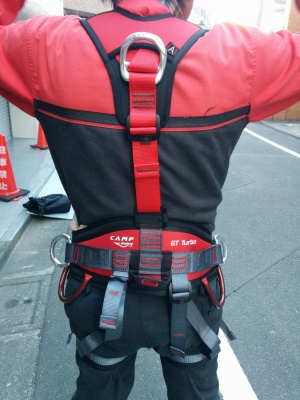 CAMP Safety GT Turbo Harness 後ろ